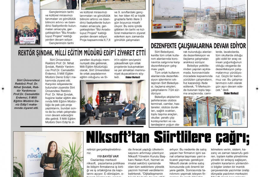 Call to Nlksoft Siirt People