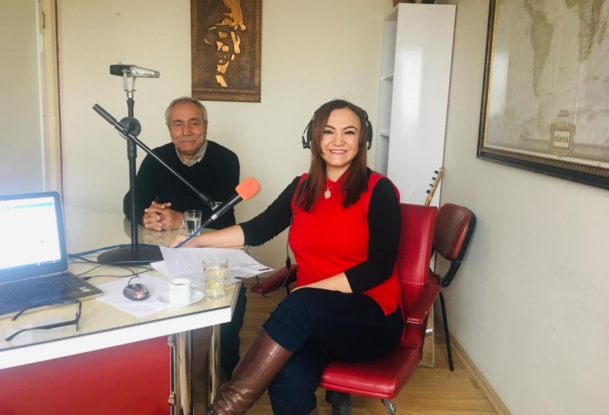 We were guests of Radyo Şirinnar.