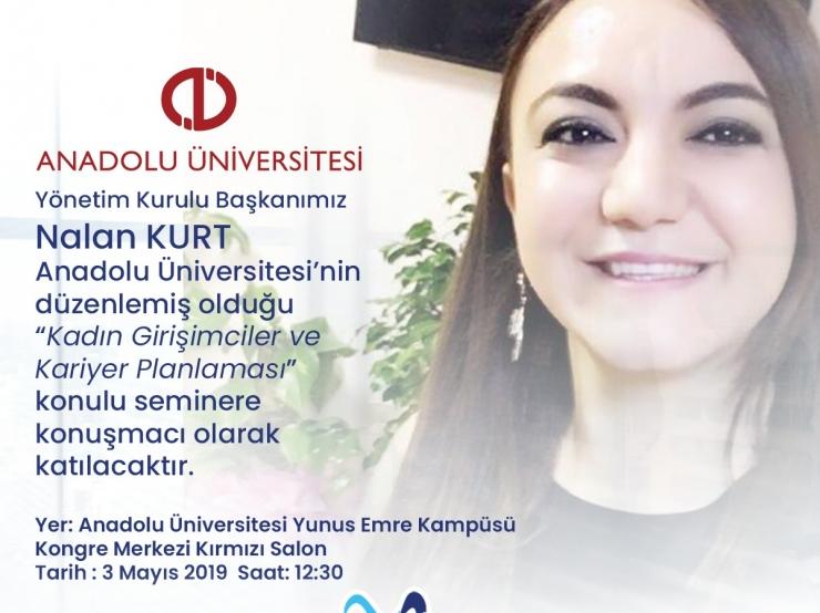 Let's Meet at Anadolu University Women Entrepreneurs and Career Planning Seminar