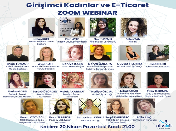 Webinar with the Title of 'Entrepreneur Women and E-Commerce'