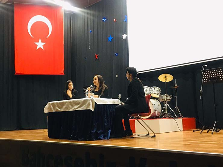 Our Chairman of the Board of Directors, Nalan Kurt Bahçeşehir College took part as a speaker on Entrepreneurship and Digitalization as the Special Guest of International Women's Day.