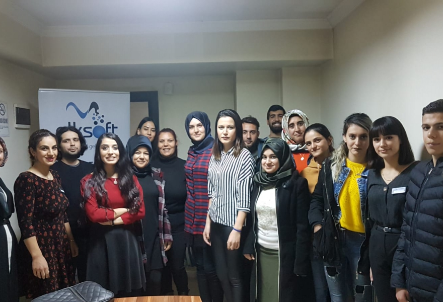 6. We Organized Our E-Commerce Training