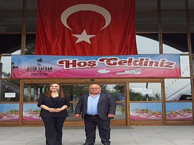 Deputy Mayor of Safranbolu with Mr. Metin Yildirim...