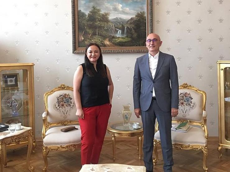 Yıldız Technical University Rector Prof. Dr. Tamer Yılmaz was interviewed.