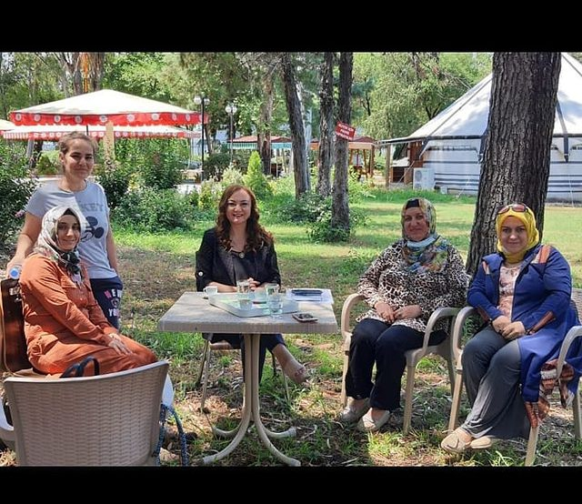 We made plans with Osmaniye Women's Initiative and Development Cooperative for training and selling the products they produce to the whole of Turkey from their online stores.