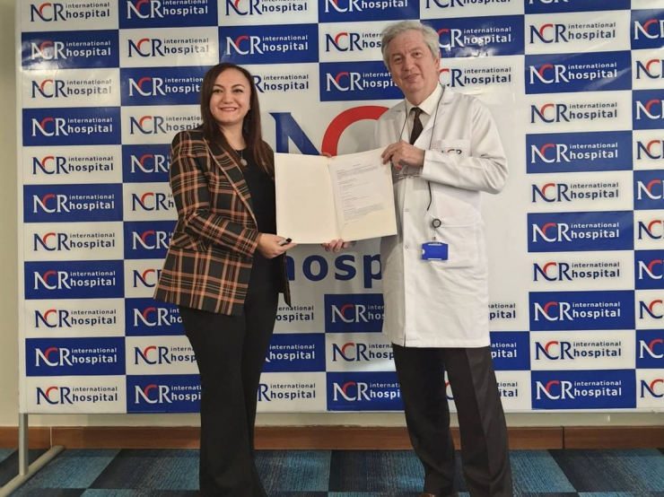nlksoft signed a protocol with NCR International Hospital.