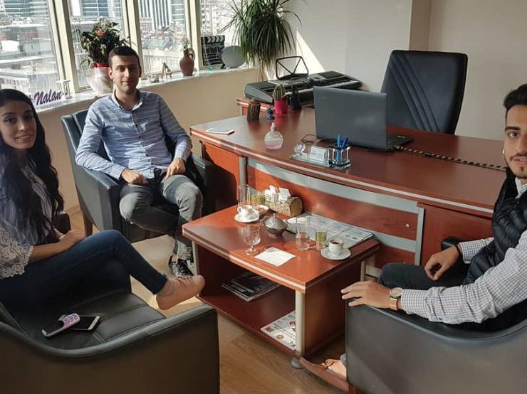 We made our new plans with our Kilis business partner, Simya Bilişim!