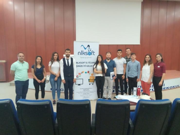 Hello E-Commerce Education at Gaziantep University Naci Topçuoğlu Vocational School