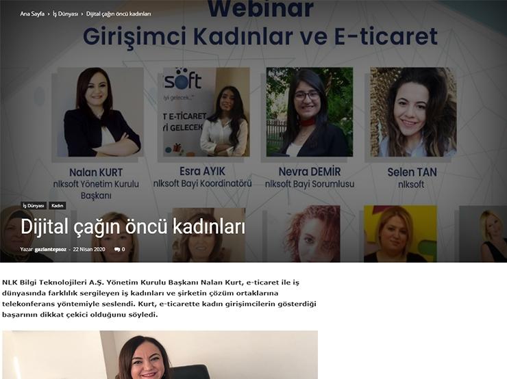Dijital Çağın Öncü Kadınları - Söz Gazetesi