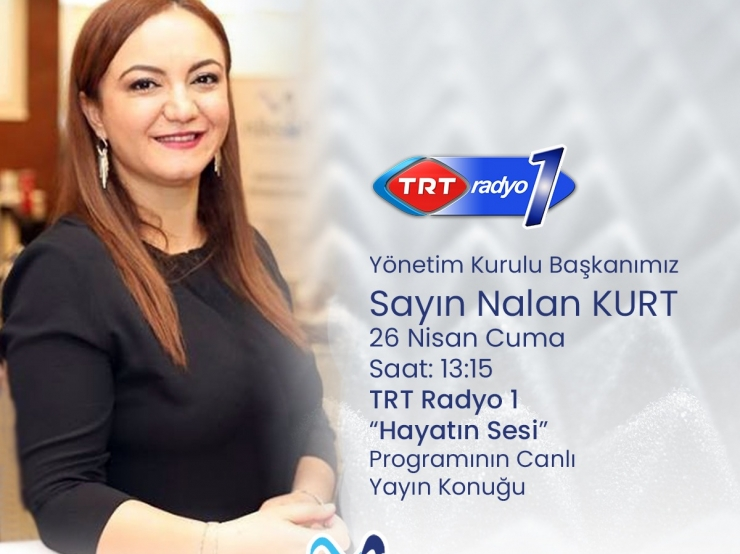 We were a guest of TRT Radio 1 Hayatın Sesi Program