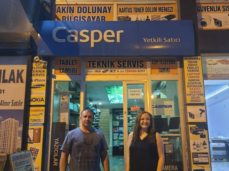 We have completed our negotiations with our Midyat business partner Dolunay Bilgisayar