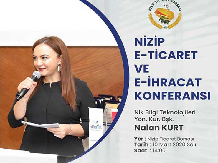 E-Commerce and E-Export Seminar Will Be Held In Nizip Commodity Exchange!