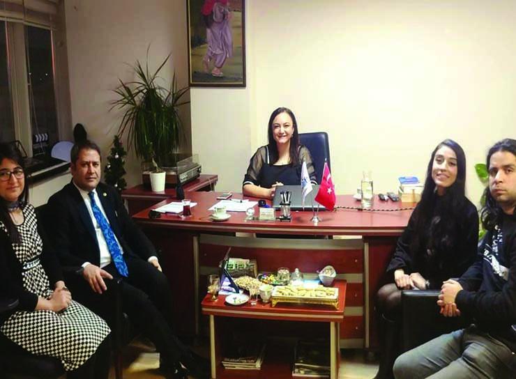 Gaziantep Deputy Mr. Ali Şahin visited nlksoft.