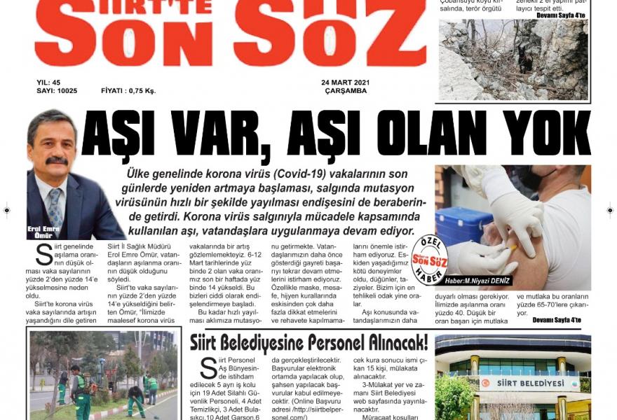 As Nlksoft, we took part in Siirt Son Söz Newspaper