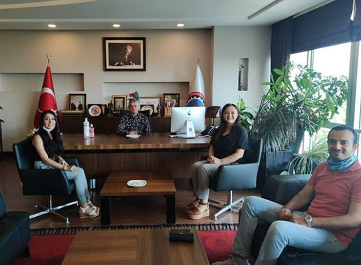 Tekirdağ Chamber of Commerce and Industry was visited.