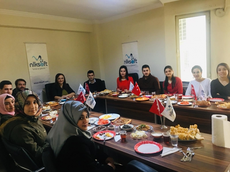 Breakfast with Gaziantep University Naci Topçuoğlu Vocational High School students