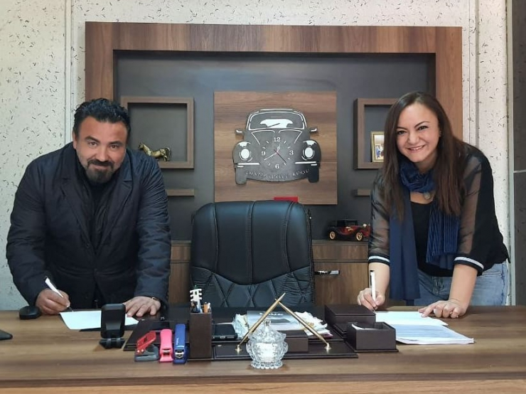 nlksoft signed a protocol with Gaziantep src courses association.