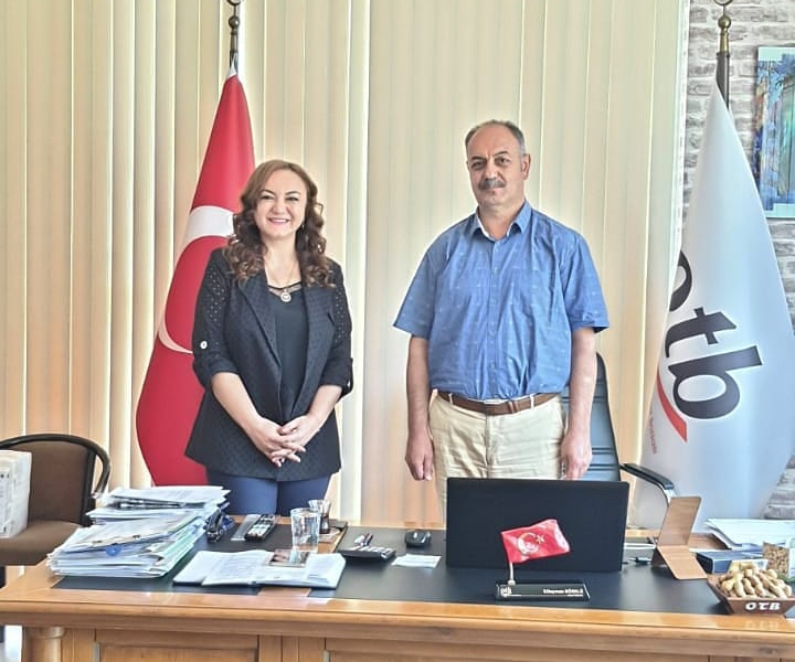 We made our meetings and plans with Osmaniye Commodity Exchange.
