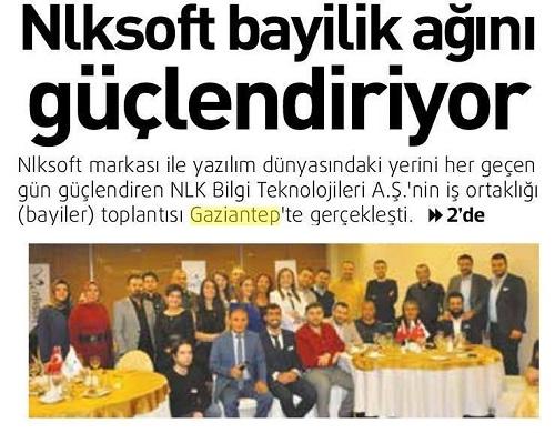 Nlksoft Dealers Meeting Held in Gaziantep