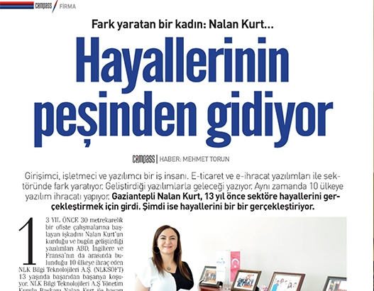 Pusula Newspaper A Woman Who Makes a Difference