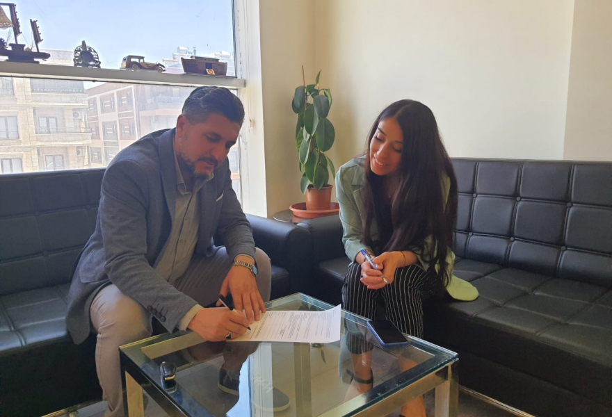 We signed a protocol with the Muhtarlar Aid and Solidarity Association.